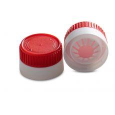 Ketjapdop, kleur rood/wit voor monding 2921